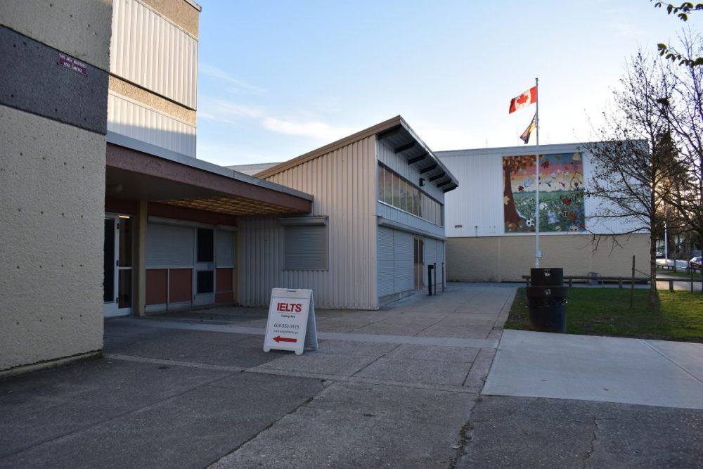 Frank Hurt School main entrance 2