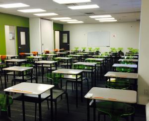 Ielts Testing Room at Eurocentres Canada