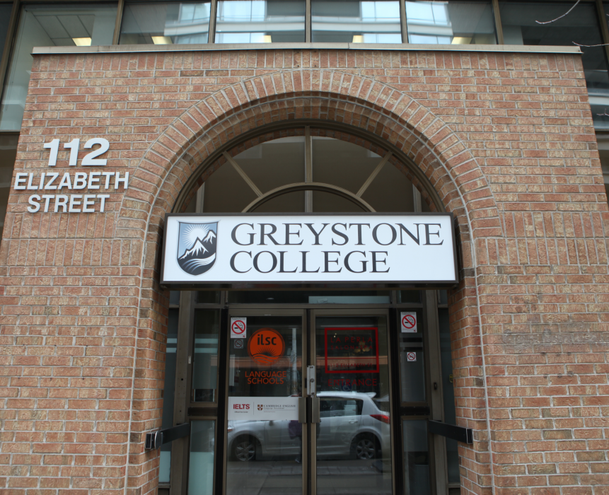 ILSC Toronto, Greystone College Entrance, Ielts Test Centre