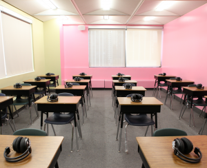 Ielts Testing Room at Upper Madison College